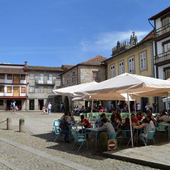 Guimaraes - Praca di Sao Tiago