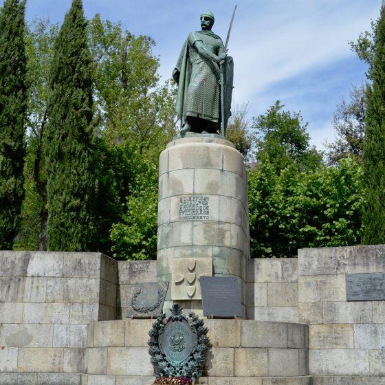 Guimaraes - Statue at Paco