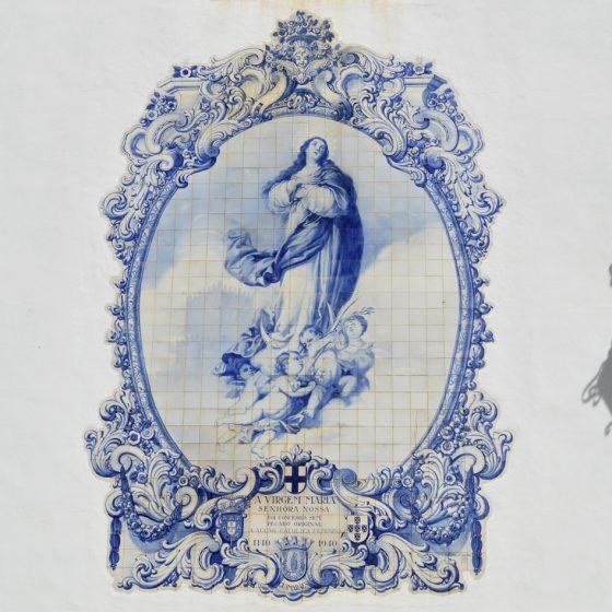 Guimaraes - Azulejos - tile frieze