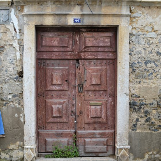 Leiria - Ancient old door
