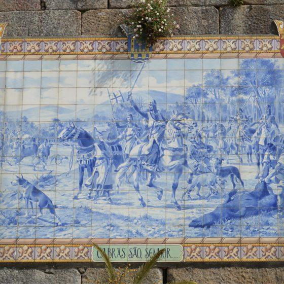 Pont de Lima - Azulejos - tile frieze