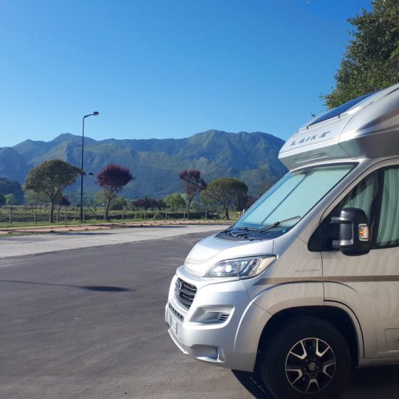 Ribadesella - Buzz motorhome parking