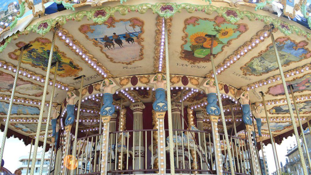 San Sebastian - Old merry go round