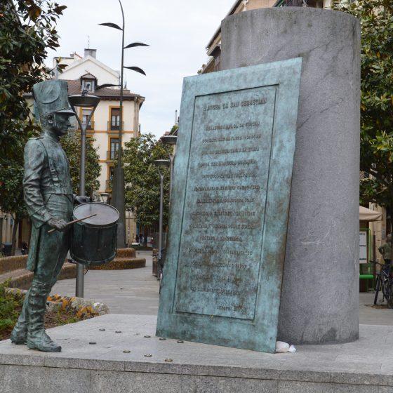 San Sebastian - Memorial Statue