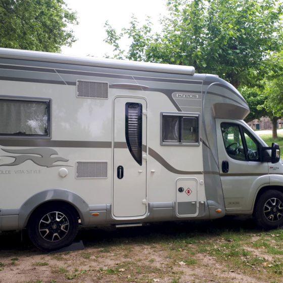 Valenca - motorhome parking