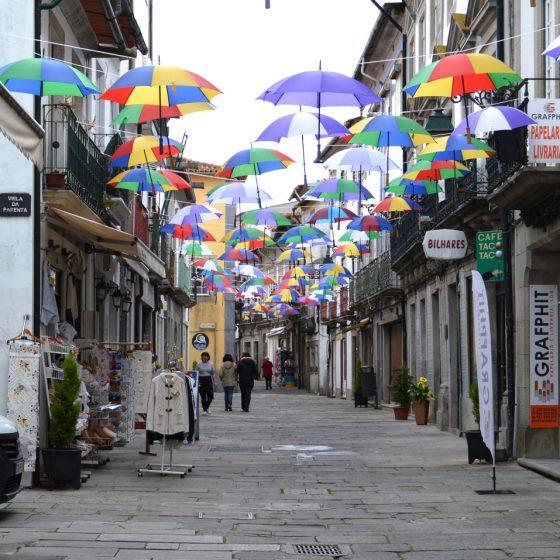 Viana do Castelo - Umbrella street