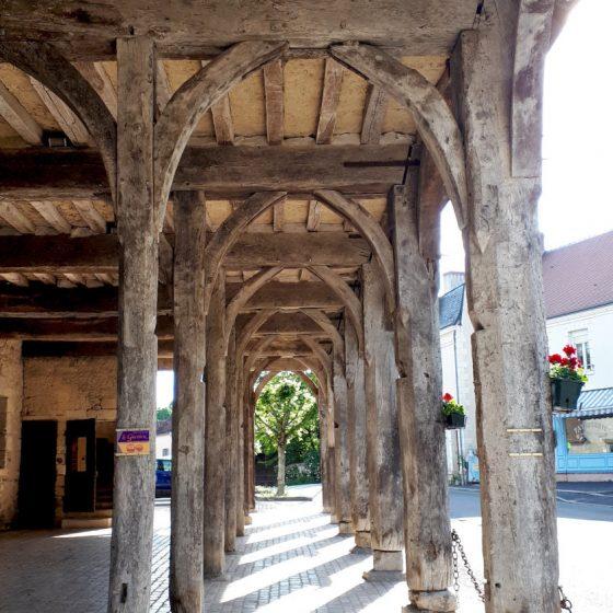 Montresor's Halles de Cardeux market place