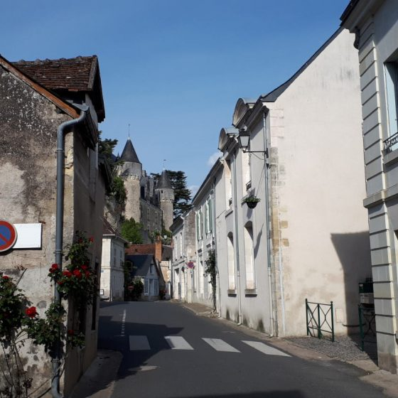Montresor's street, typical of the town