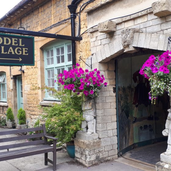 Pretty entrance way to the Model Village