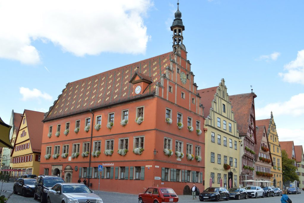 Typical town centre building at Dinkelsbuhl
