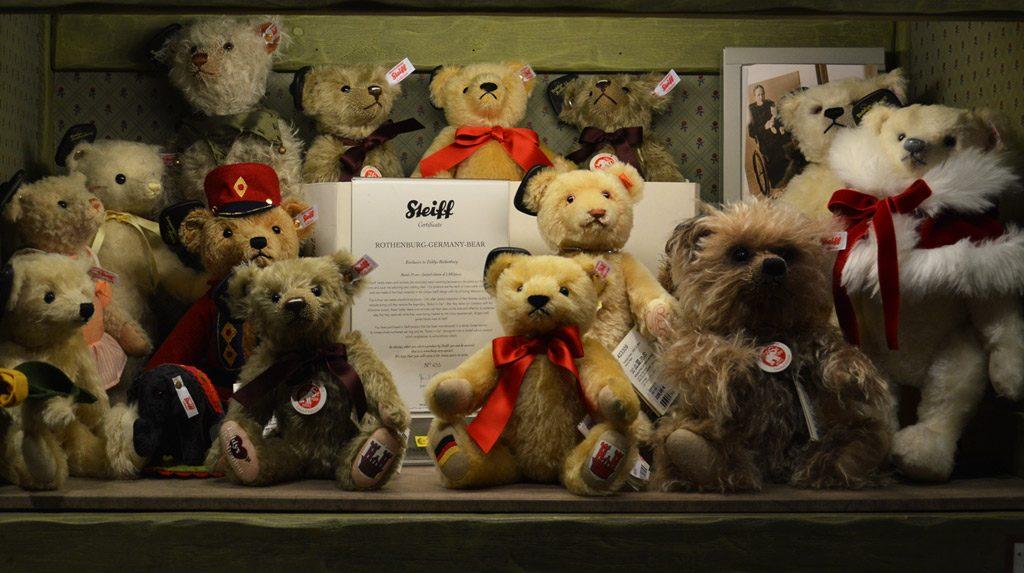 Steiff teddy's