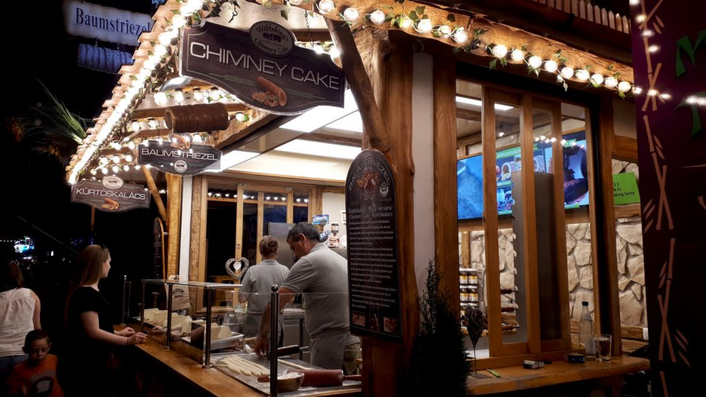 The Chimney Cake Stand - just too good to resist