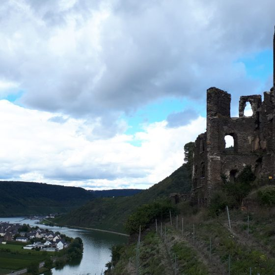 The atmospheric ruins of Beilstein castle