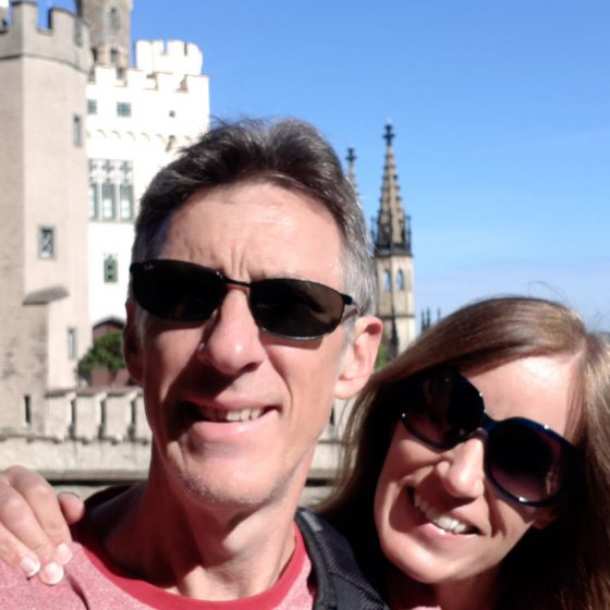 Selfie at the Schloss!