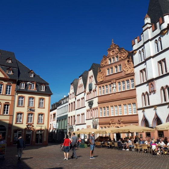 Trier grand old town square