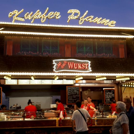 Wurst, wurst and more wurst. Do you like wurst?