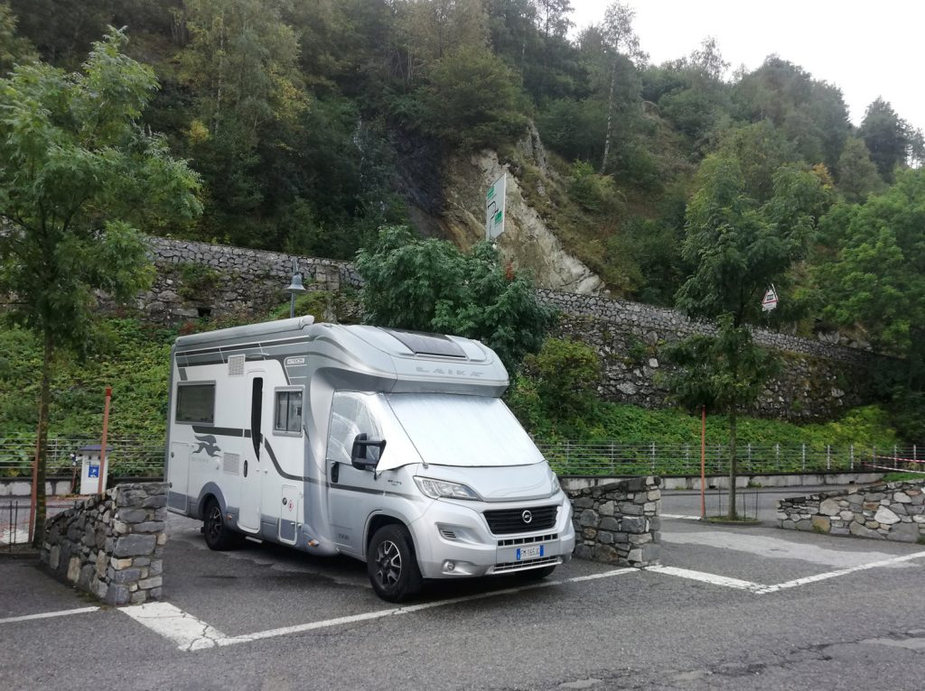 Andorra - Buzz parked in France ready for Andorra