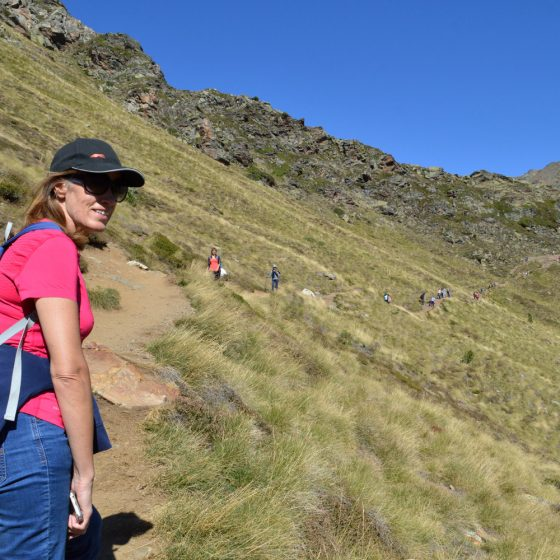 Andorra - setting out on our trek