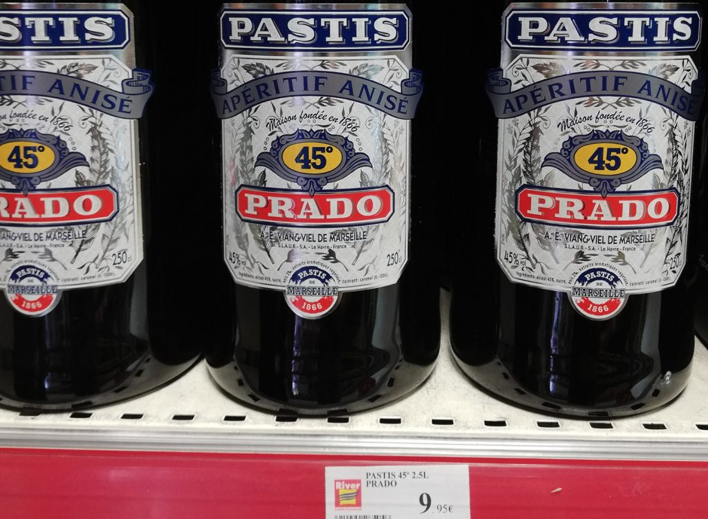 Andorra - 2.5l of Pastis for less than 10euro