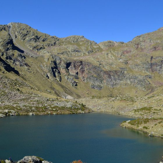 Andorra - the largest of the 3 lakes