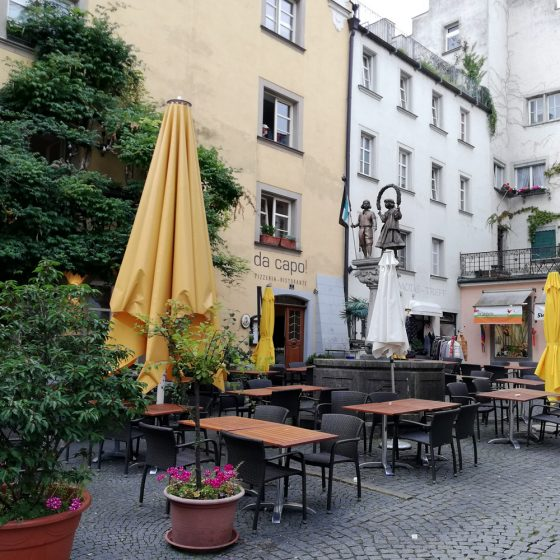 Typical Lindau restaurant
