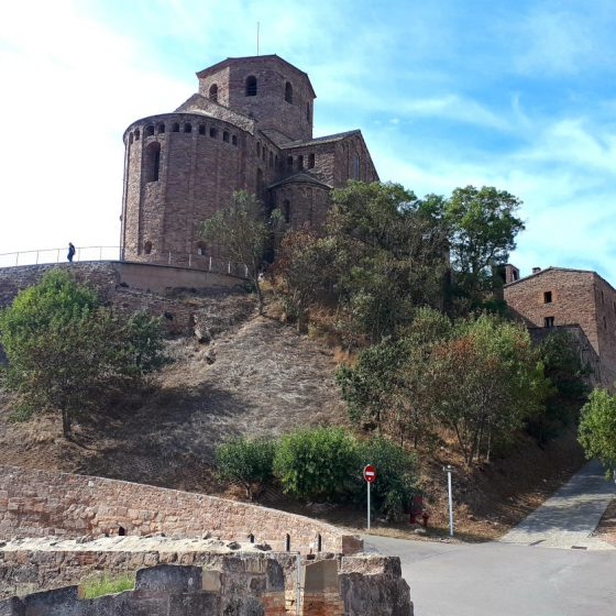 Part of Cardona Castle, now a posh Parador hotel