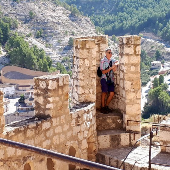 King of the castle in Alcala del Jucar