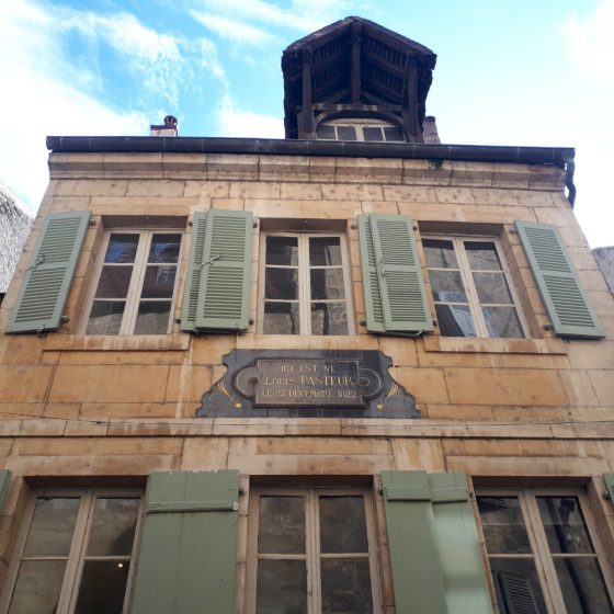 The house where Louis Pasteur spent his early life