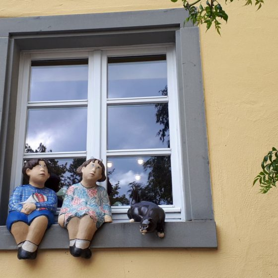 Meersburg window decoration