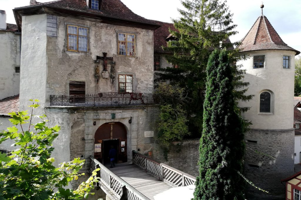 Meersburg old castle upper town