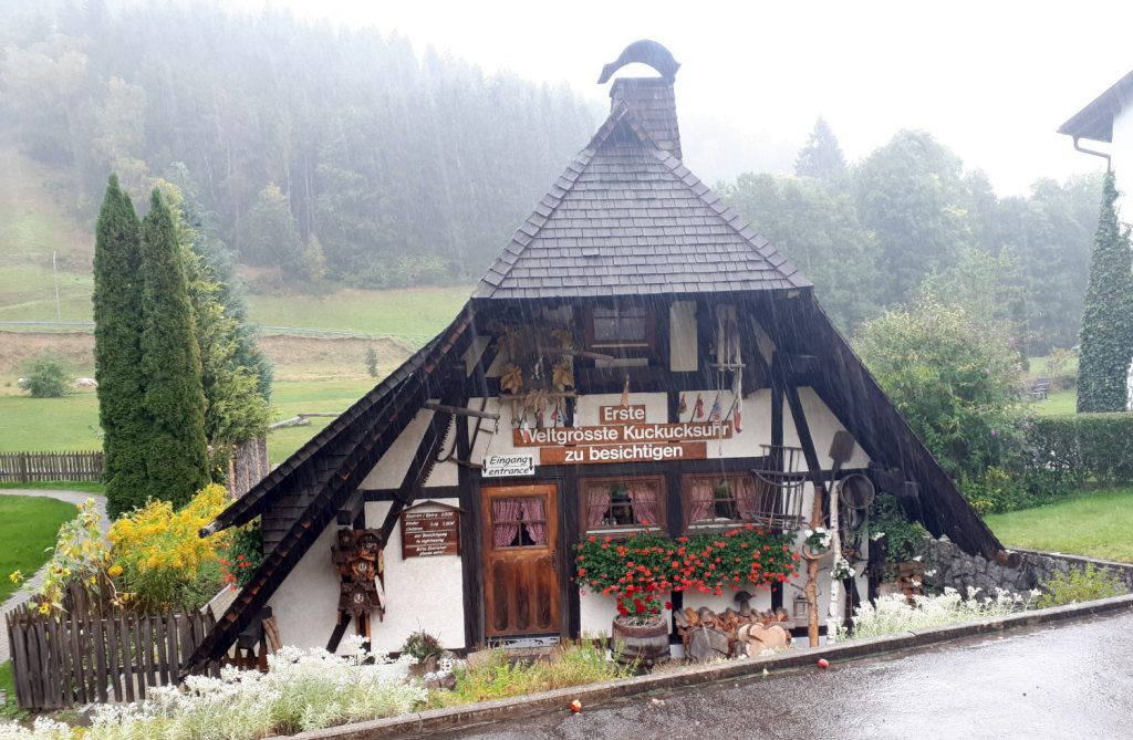 The world's first largest cuckoo clock (now the 2nd) in Schonach
