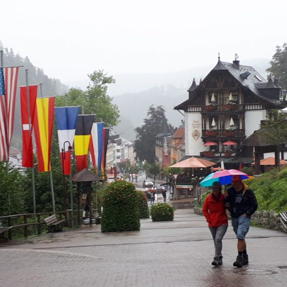Triberg on a rainy day