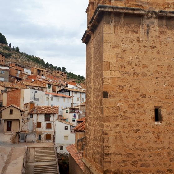 The old town of Ademuz
