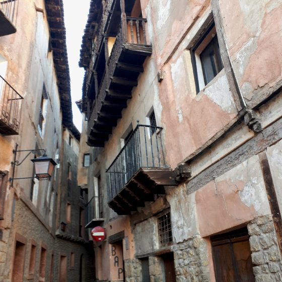 Such character in the streets of Albarracin