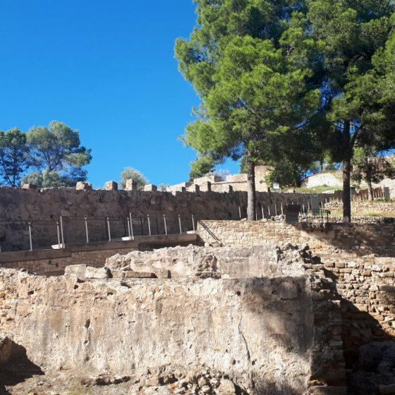 Denia castle grounds