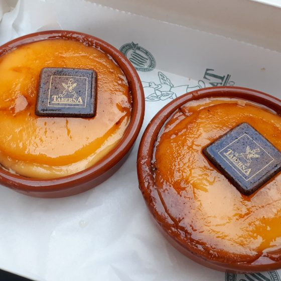Pamplona treat, creme-caramel