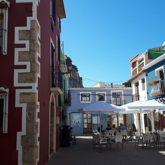 Cafes galore in Denia