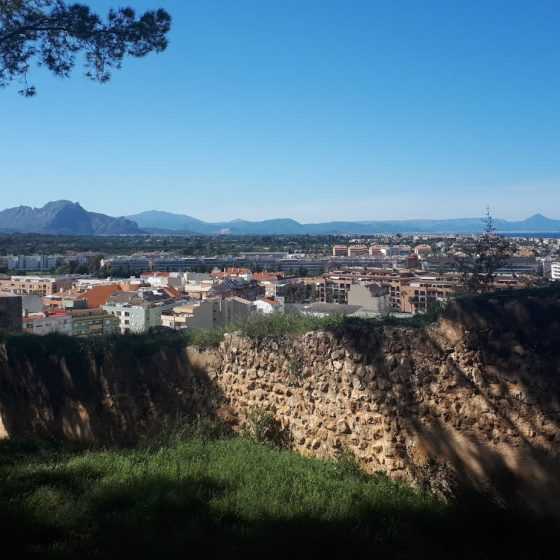 Views from Denia castle