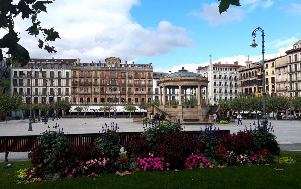 Pamplona's Plaza Del Castillo