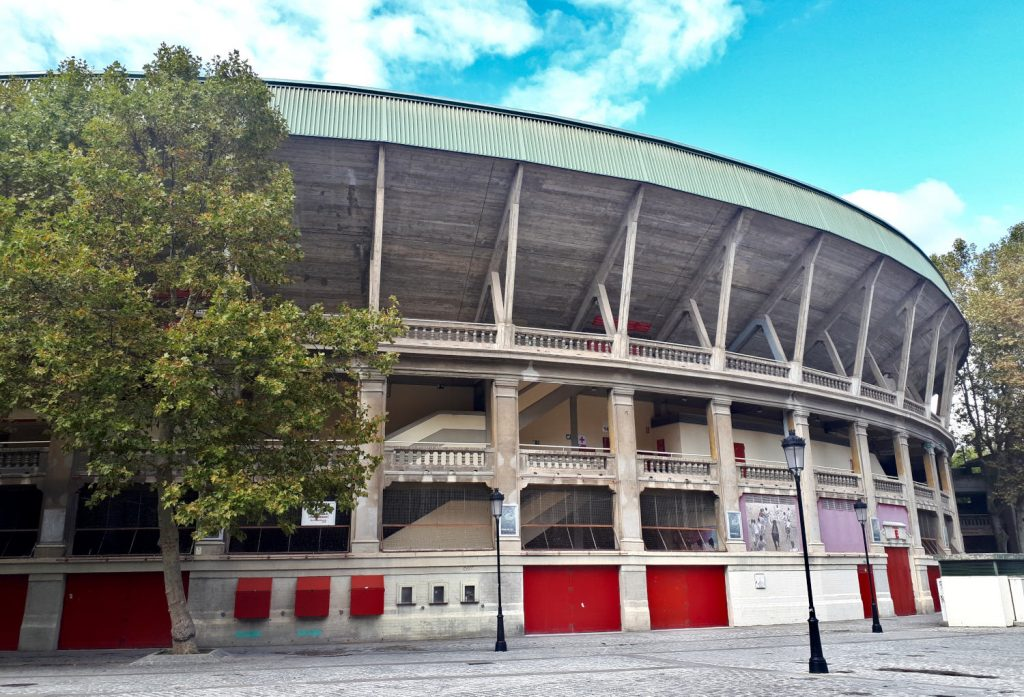 Plaza de Toros de Pamplona built in 1922