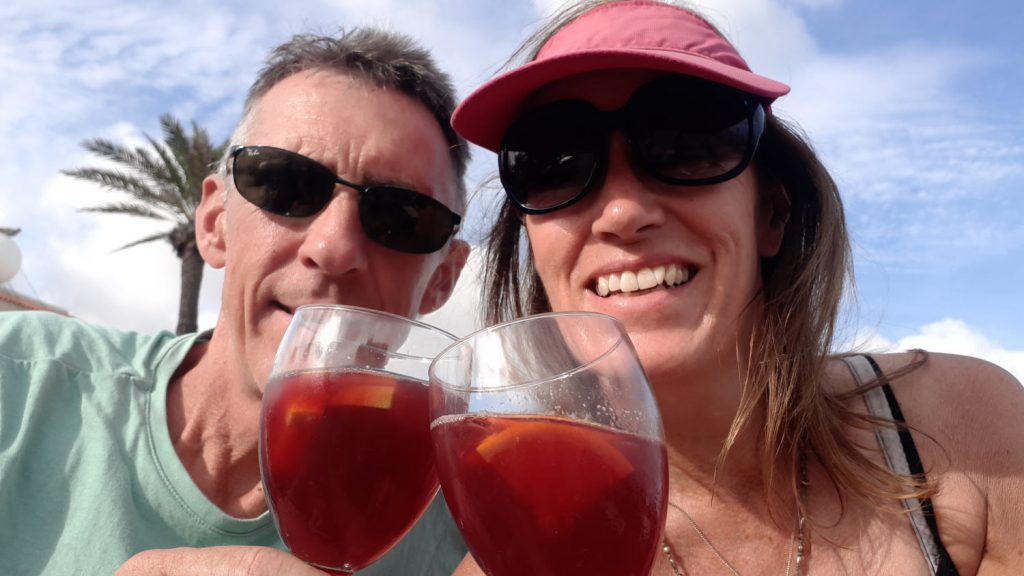 You can't come to Spain without having a Sangria!