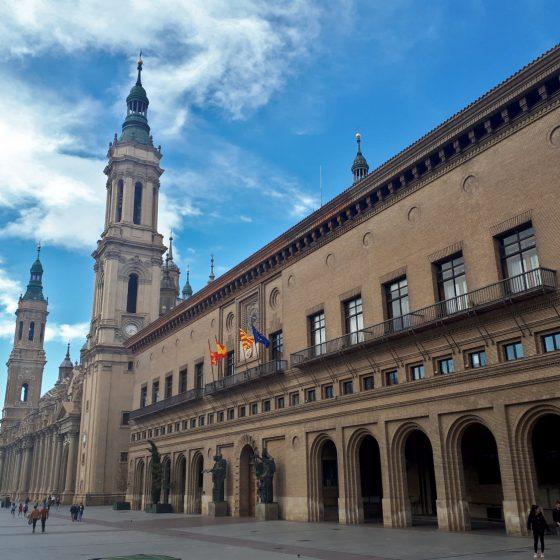 Zaragoza town hall