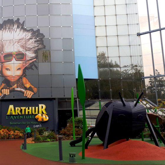 Arthur 4D experience