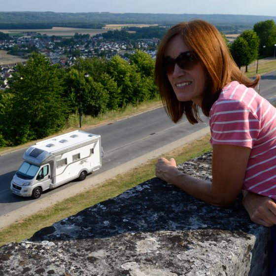 Buzz parked at Laon on our first night