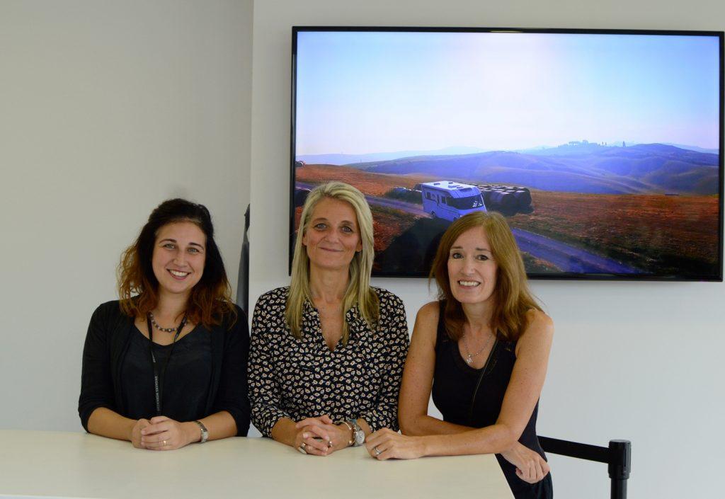 Laika International marketing team Florence