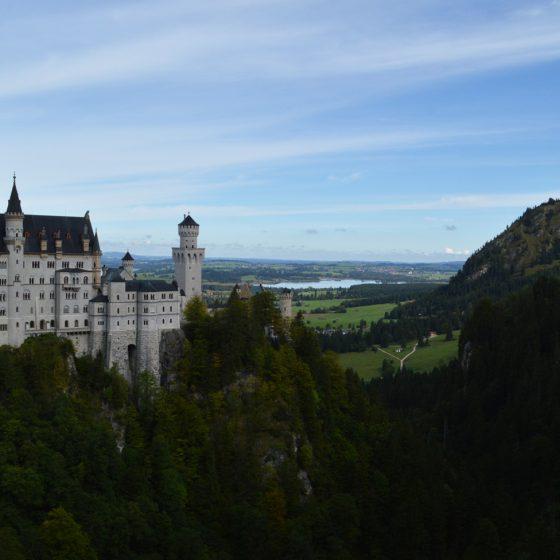 Neuschwanstein fairytale Castle in Bavaria